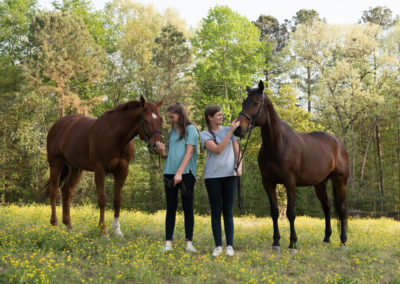 Equine-Senior-Sisters-Photography-NC-29