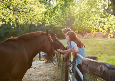 Equine-Senior-Sisters-Photography-NC-35